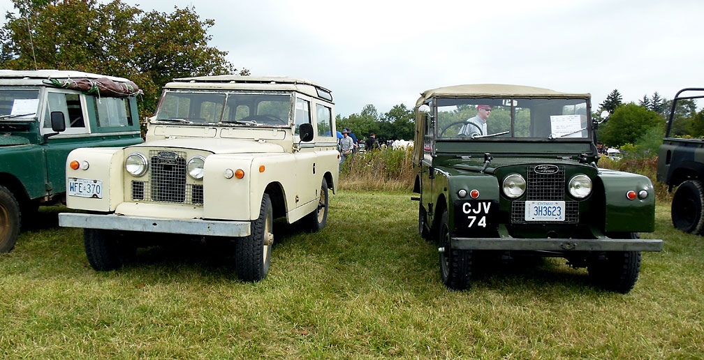 Vintage Land Rovers